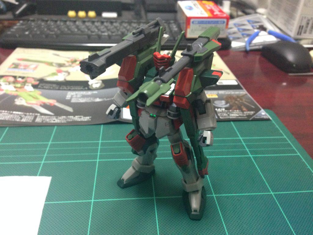 HG 1/144 GAT-X103AP ヴェルデバスターガンダム [Verde Buster] 正面