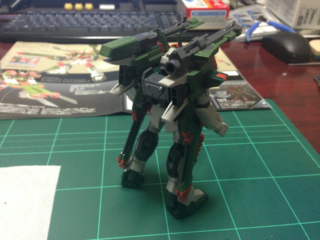 HG 1/144 GAT-X103AP ヴェルデバスターガンダム [Verde Buster] 背面