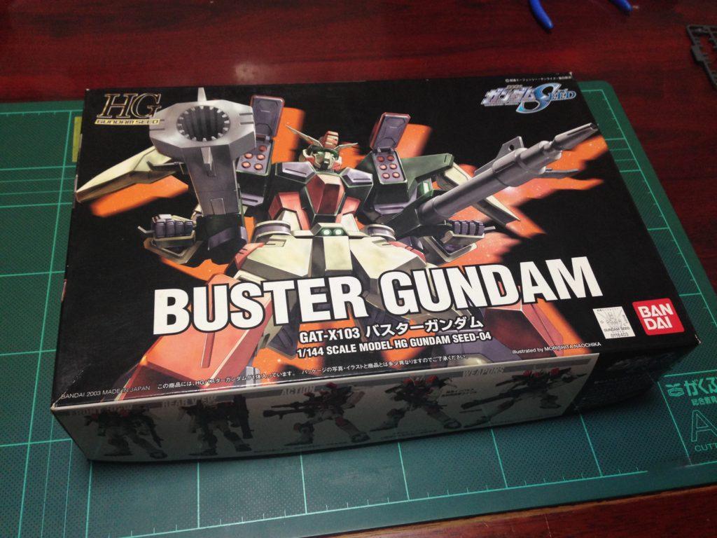 HG 1/144 GAT-X103 バスターガンダム パッケージ