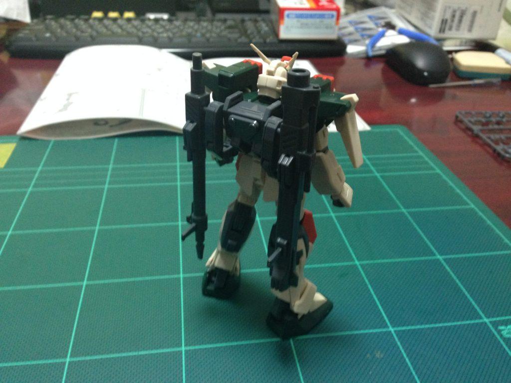 HG 1/144 GAT-X103 バスターガンダム 背面