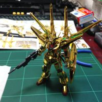 HG 1/144 ORB-01 シラヌイアカツキガンダム [Akatsuki Shiranui Weapon pack] 4543112410412