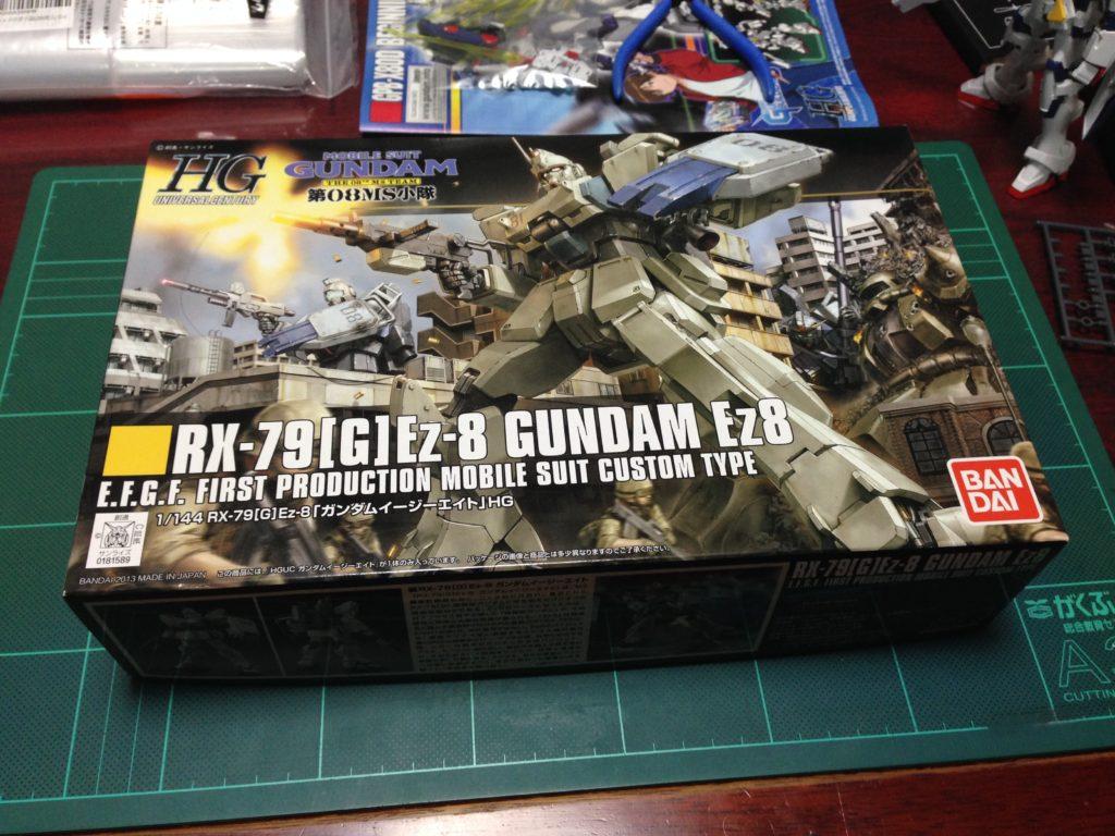HGUC 1/144 RX-79[G]Ez-8 ガンダムEz8 [Gundam Ez8] パッケージ