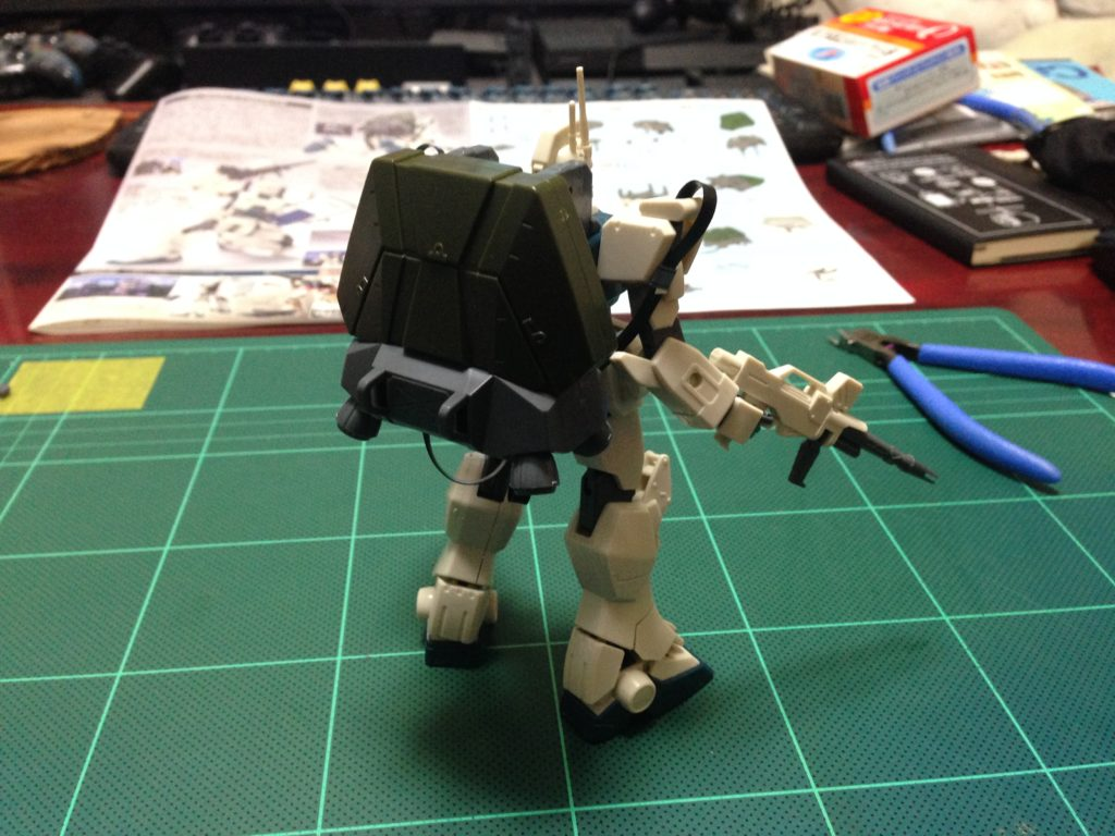 HGUC 1/144 RX-79[G]Ez-8 ガンダムEz8 [Gundam Ez8] 背面