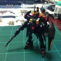HG 1/144 ZGMF-X88S ガイアガンダム [Gaia Gundam] 素組画像