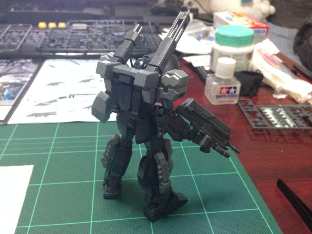 HGUC 1/144 RGM-96X ジェスタ・キャノン [Jesta Cannon] 背面