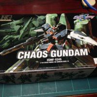HG 1/144 ZGMF-X24S カオスガンダム [Chaos Gundam] パッケージ