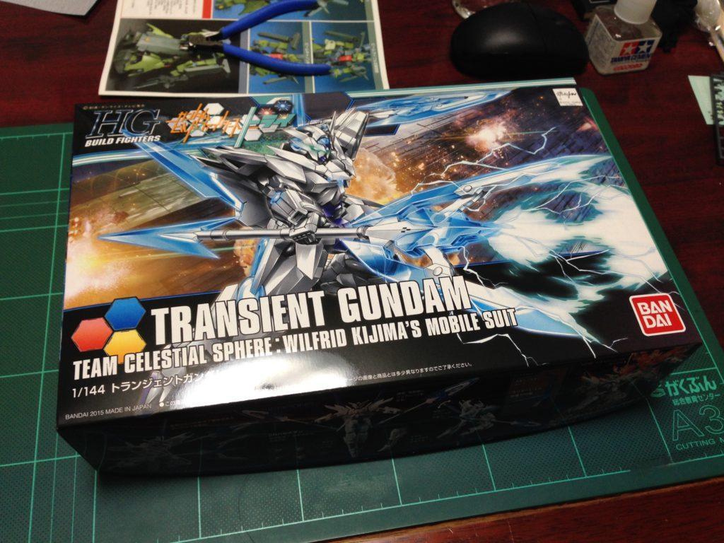 HGBF 1/144 GN-9999 トランジェントガンダム [Transient Gundam] パッケージ