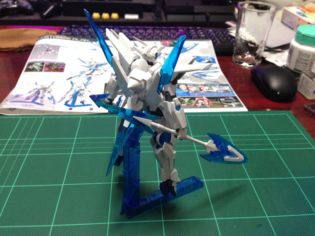 HGBF 1/144 GN-9999 トランジェントガンダム [Transient Gundam] 背面