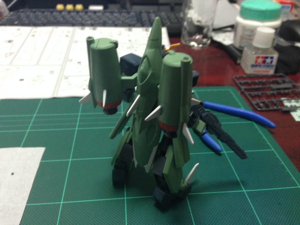 HG 1/144 ZGMF-X24S カオスガンダム [Chaos Gundam] 背面