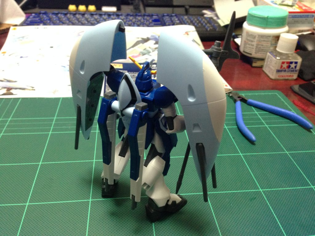 HG 1/144 ZGMF-X31S アビスガンダム 背面