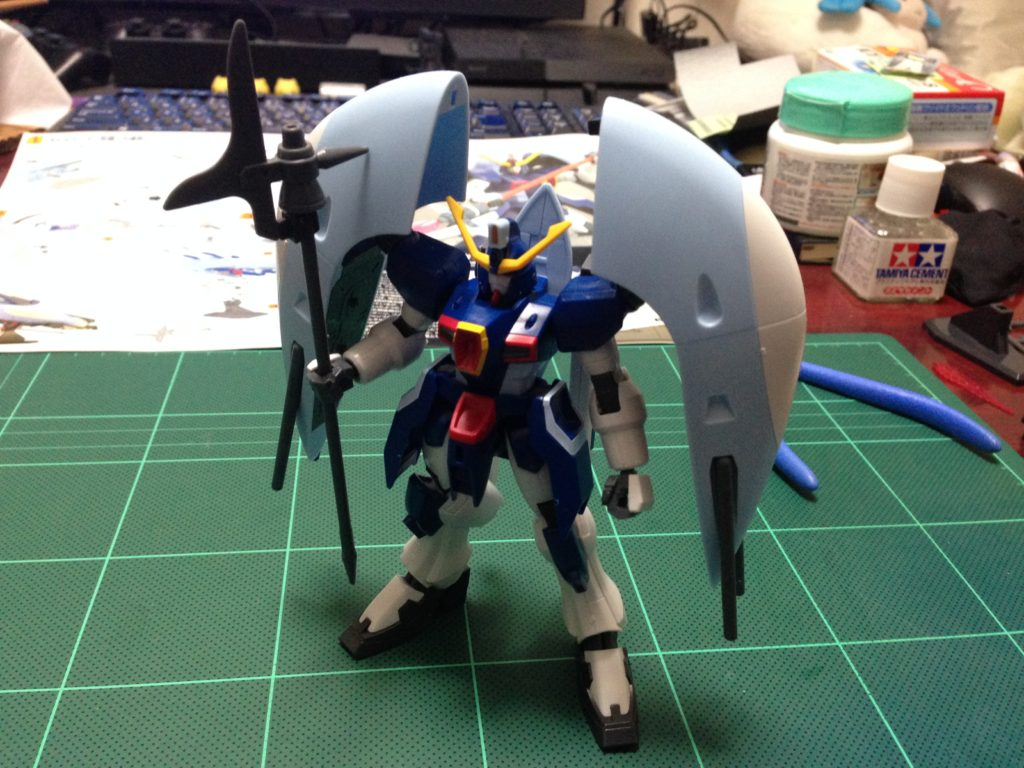 HG 1/144 ZGMF-X31S アビスガンダム 正面