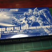 HGUC 1/144 RX-80PR ペイルライダー(陸戦重装備仕様) [Pale Rider (Ground Heavy Equipment Type)]