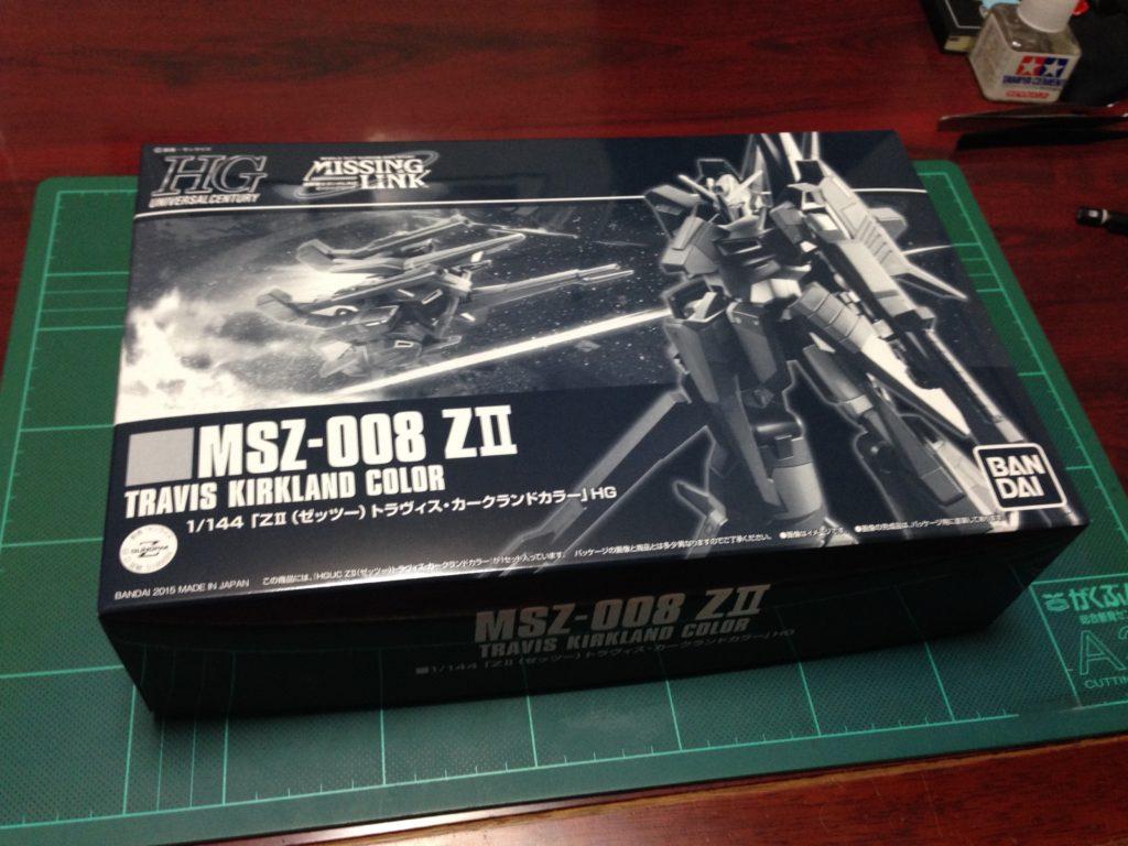 HGUC 1/144 MSZ-008 ZII トラヴィス・カークランドカラー [ZII (Travis Kirkland Color)] パッケージ