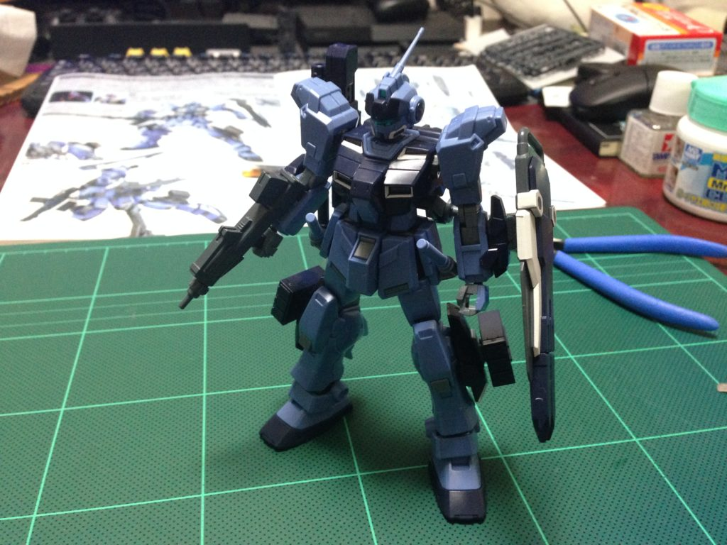 HGUC 1/144 RX-80PR ペイルライダー(陸戦重装備仕様) 正面