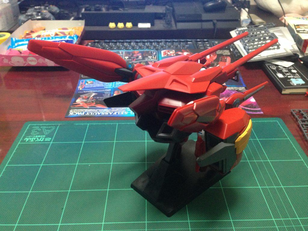 HG 1/144 YG-111 G-セルフ(アサルトパック装備型) [Gundam G-Self Assault Pack] 背面