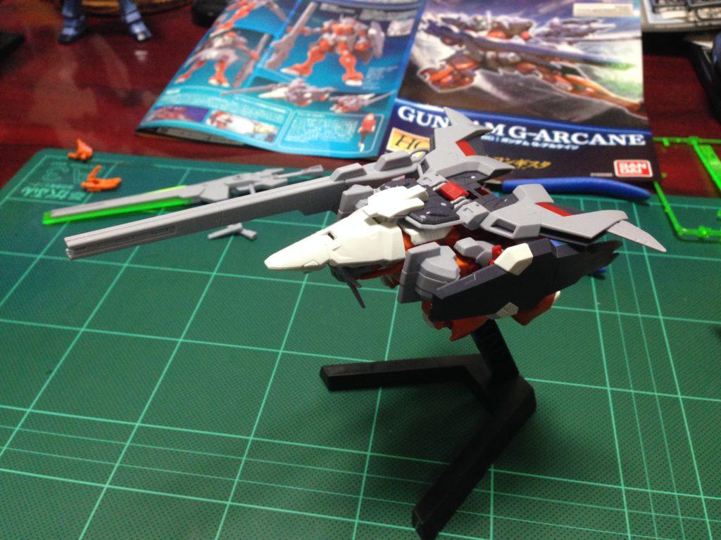 HG 1/144 MSAM-033 ガンダム G-アルケイン [Gundam G-Arcane] 正面