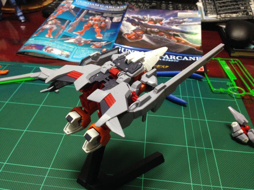 HG 1/144 MSAM-033 ガンダム G-アルケイン [Gundam G-Arcane] 背面