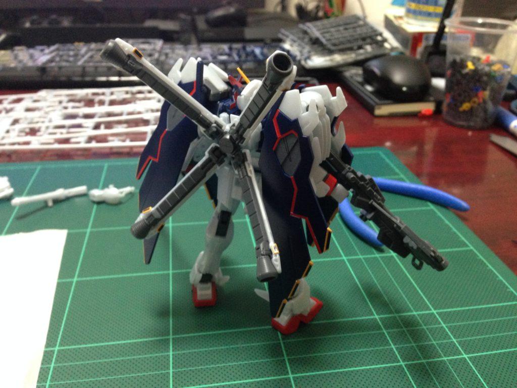 HGBF 1/144 XM-X1 クロスボーンガンダムX1フルクロスVer.GBF [Crossbone Gundam X-1 Full Cloth Type.GBFT] 背面
