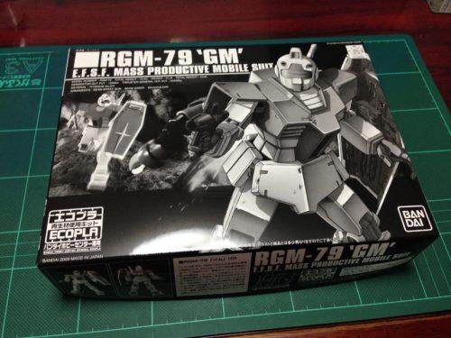 HGUC 1/144 RGM-79 エコプラ ジム [ECOPLA GM]