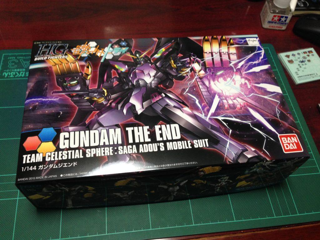 HGBF 1/144 RX-END ガンダム・ジ・エンド [Gundam The End] パッケージ