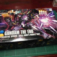 HGBF 1/144 RX-END ガンダム・ジ・エンド [Gundam The End]