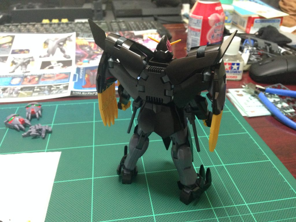 HGBF 1/144 RX-END ガンダム・ジ・エンド [Gundam The End] 背面
