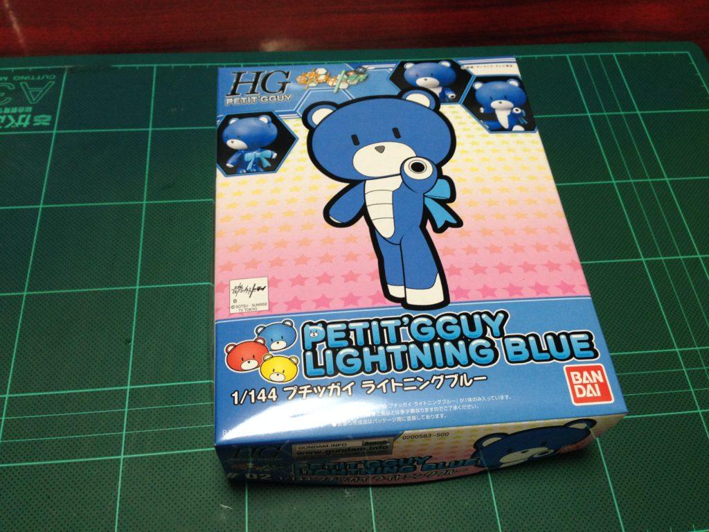 HGPG 1/144 プチッガイ ライトニングブルー パッケージ