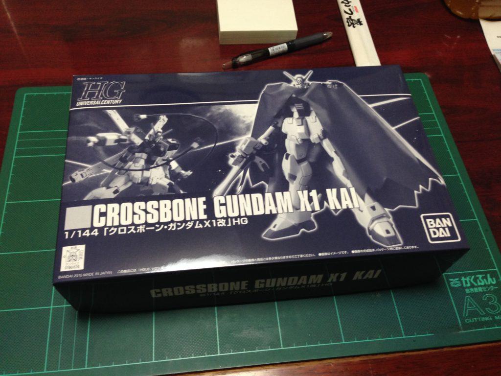 HGUC 1/144 XM-X1 Kai クロスボーンガンダムX1改 パッケージ
