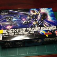 HGUC 1/144 LM314V23/24 V2アサルトバスターガンダム [VICTORY TWO ASSAULT BUSTER GUNDAM]