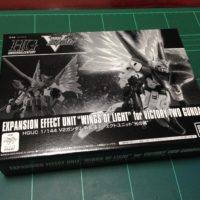 "HGUC 1/144 V2ガンダム用拡張エフェクトユニット""光の翼"" [Expansion Effect Unit ""Wings of Light"" for Victory Two Gundam]"