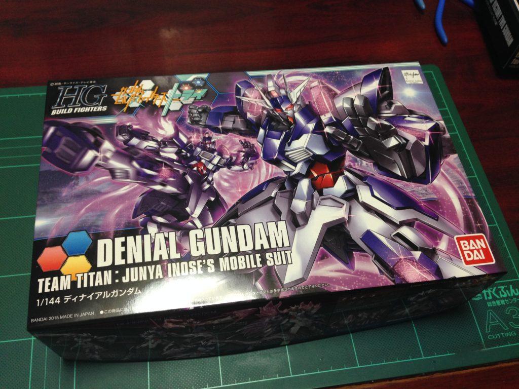 HGBF 1/144 NK-13J ディナイアルガンダム [Denial Gundam] パッケージ