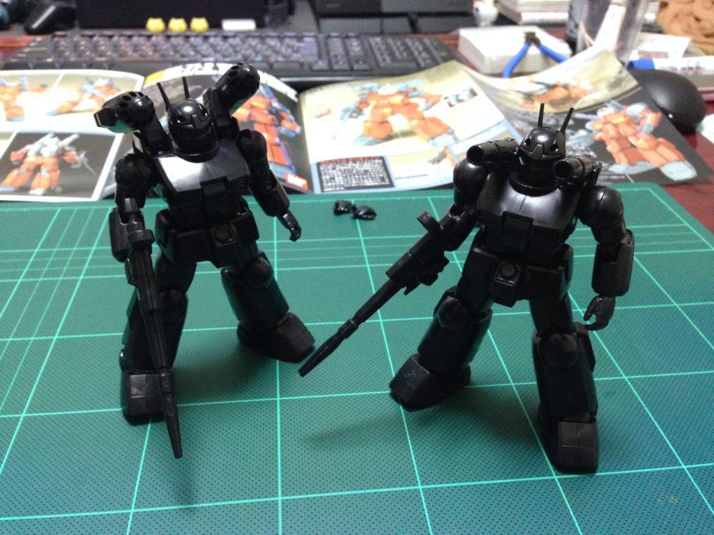 HGUC 1/144 RX-77-2 エコプラ ガンキャノン 正面