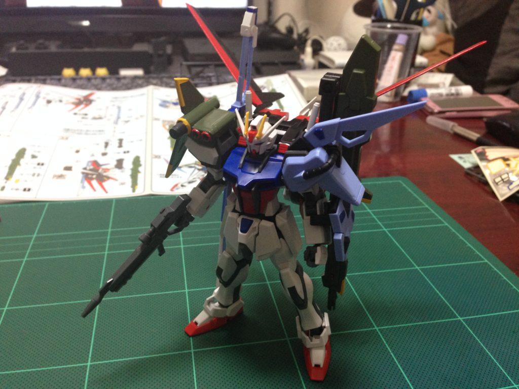 HG R17 1/144 GAT-X105+AQM/E-YM1 パーフェクトストライクガンダム [Perfect Strike Gundam] 正面