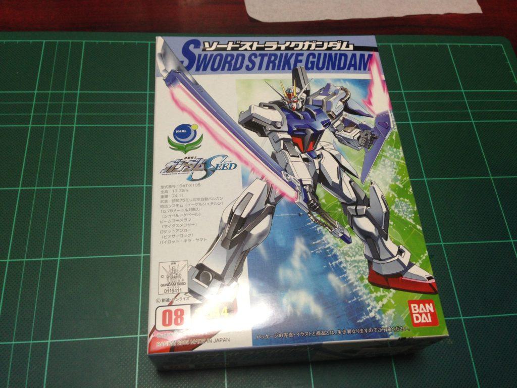 コレクションシリーズ 1/144 GAT-X105 ソードストライクガンダム [Collection Series Sword Strike Gundam] 4543112164117 パッケージ
