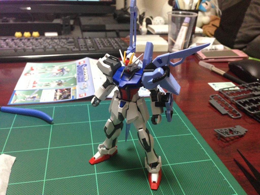 コレクションシリーズ 1/144 GAT-X105 ソードストライクガンダム [Collection Series Sword Strike Gundam] 4543112164117 正面