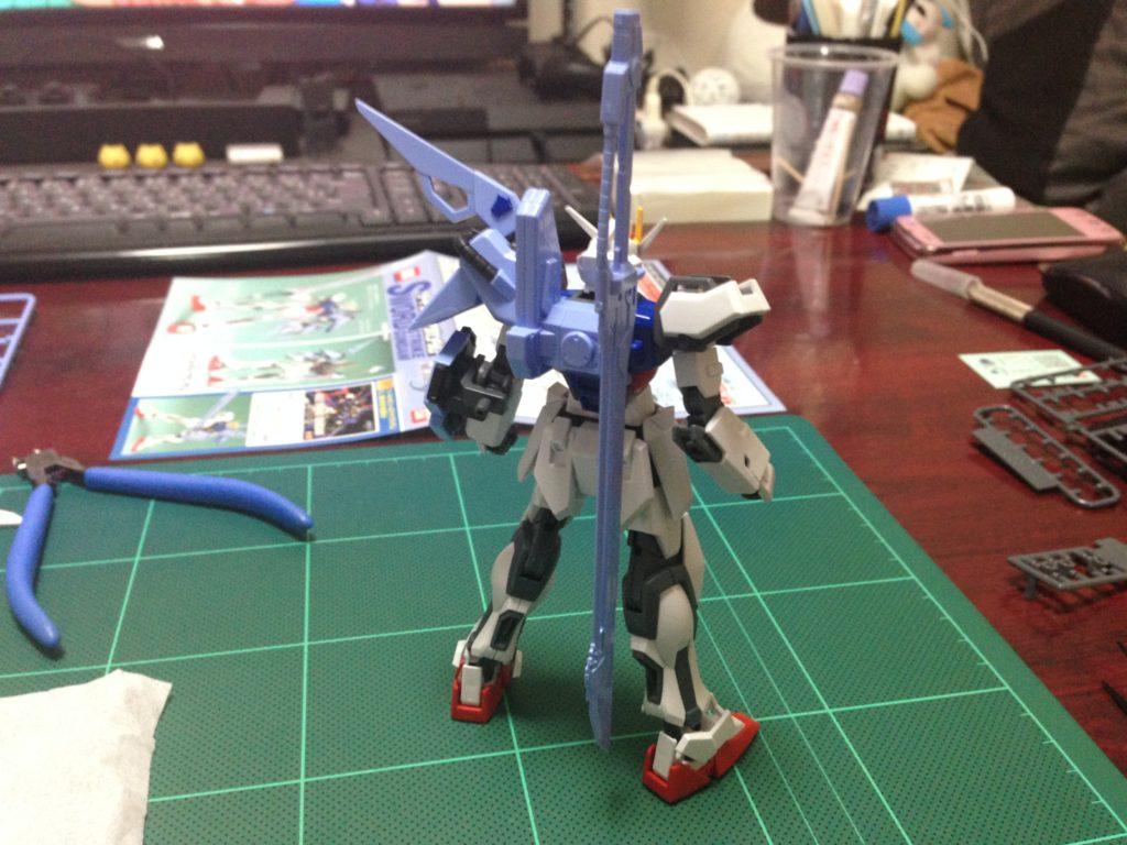 コレクションシリーズ 1/144 GAT-X105 ソードストライクガンダム [Collection Series Sword Strike Gundam] 4543112164117 背面