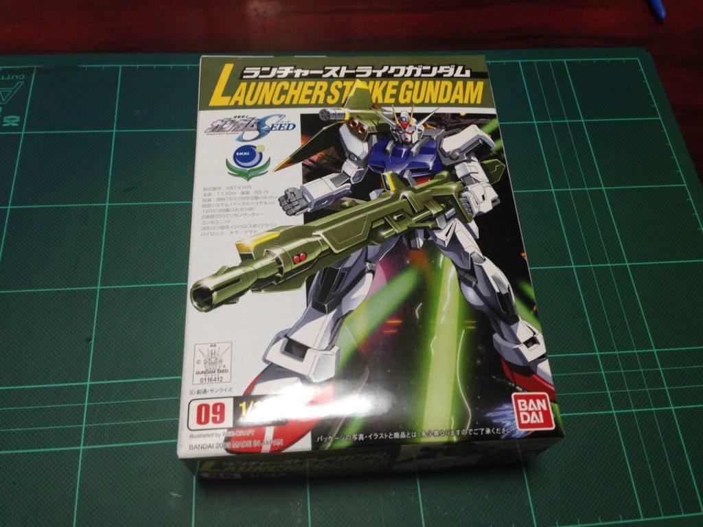 コレクションシリーズ 1/144 GAT-X105 ランチャーストライクガンダム [Collection Series Launcher Strike Gundam] パッケージ