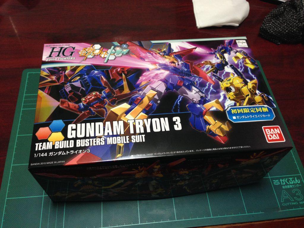 HGBF 1/144 最強機動 ガンダムトライオン3 [Gundam Tryon 3] パッケージ