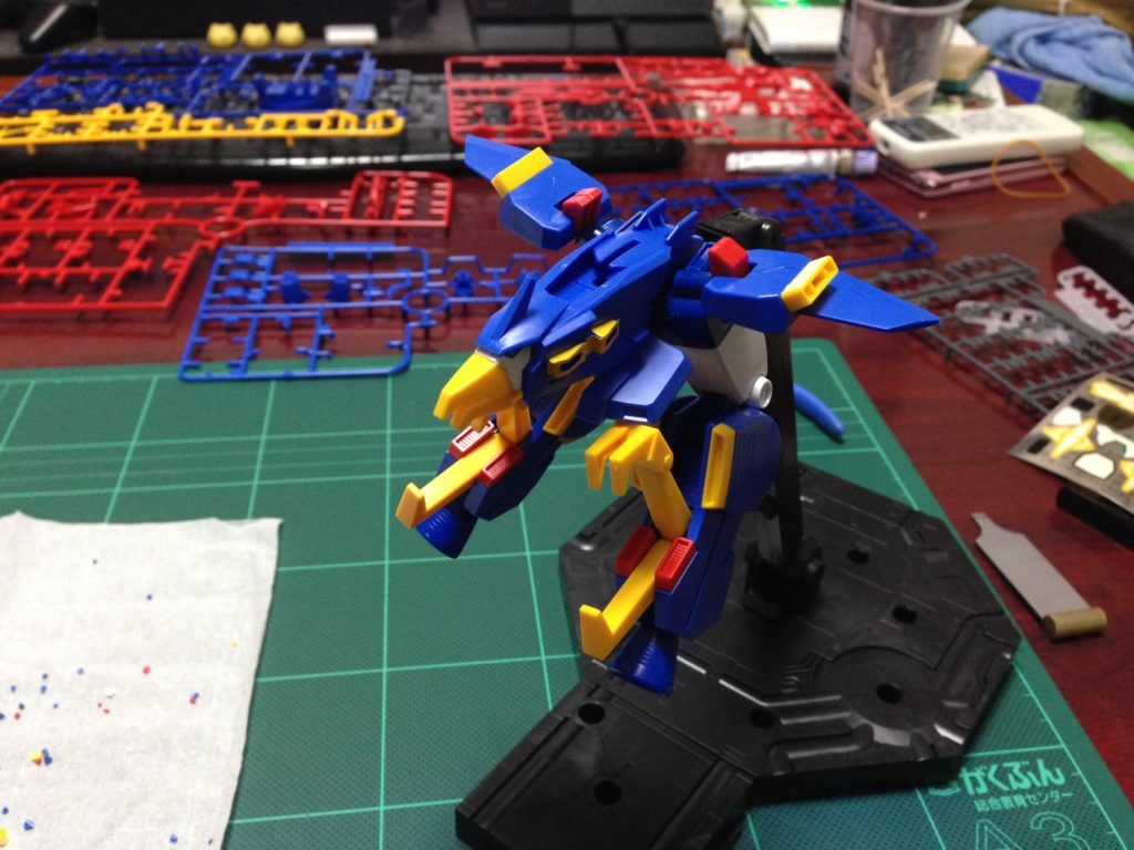 HGBF 1/144 最強機動 ガンダムトライオン3 [Gundam Tryon 3] 正面