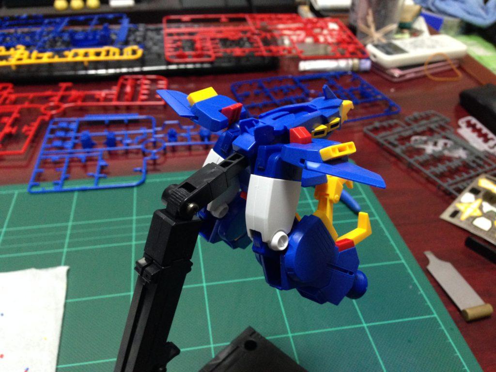 HGBF 1/144 最強機動 ガンダムトライオン3 [Gundam Tryon 3] 背面