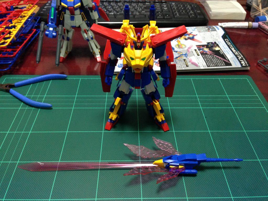 HGBF 1/144 最強機動 ガンダムトライオン3 [Gundam Tryon 3] セット内容