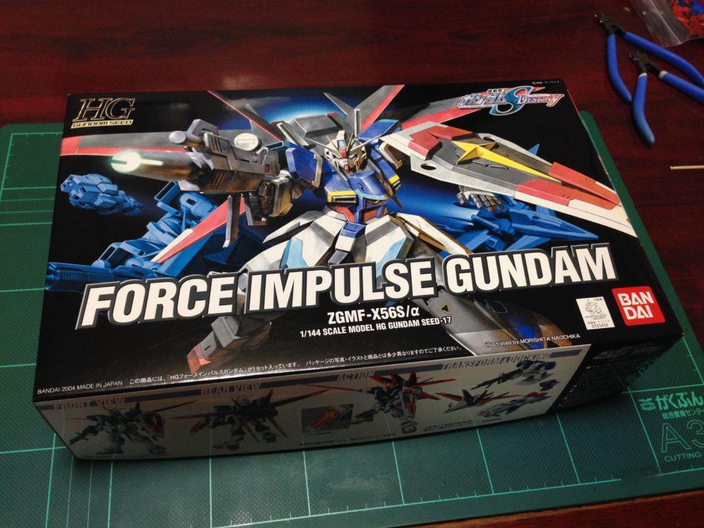 HG 1/144 ZGMF-X56S/α フォースインパルスガンダム [Force Impulse Gundam] パッケージ