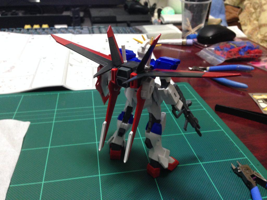 HG 1/144 ZGMF-X56S/α フォースインパルスガンダム [Force Impulse Gundam] 背面