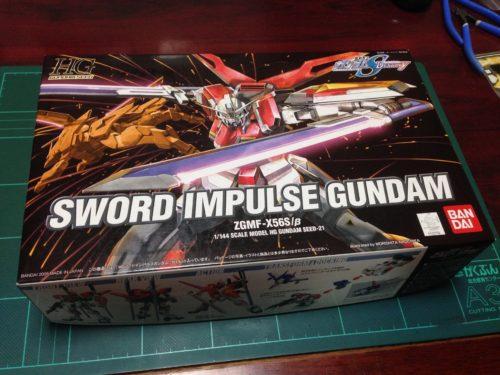 HG 1/144 ZGMF-X56S/β ソードインパルスガンダム [SWORD IMPULSE GUNDAM]