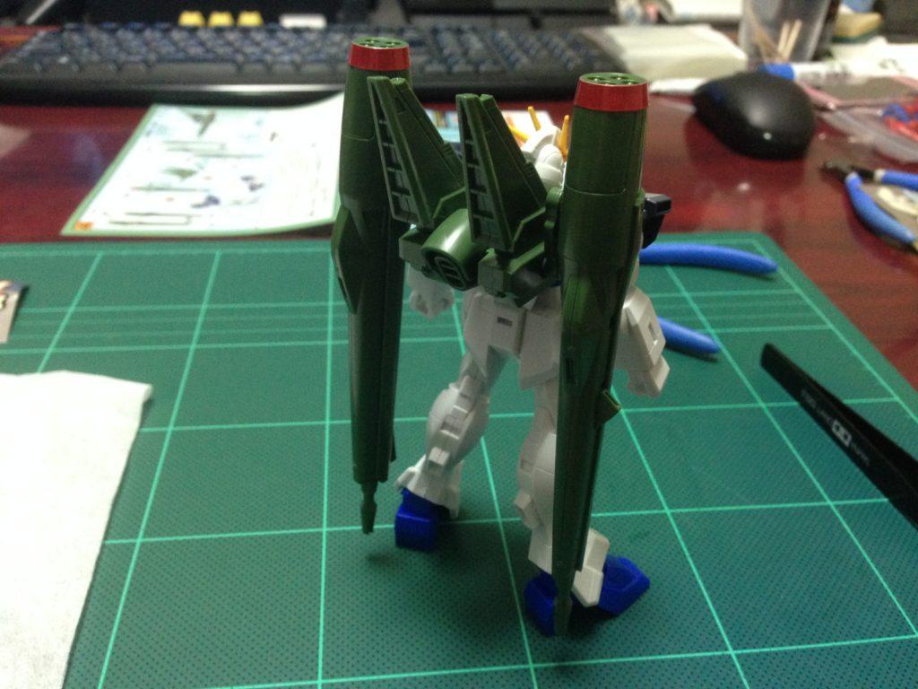 コレクションシリーズ 1/144 ZGMF-X56S/γ ブラストインパルスガンダム 背面