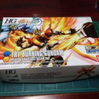 HG 1/144 トライバーニングガンダム PPクリアVer. [TRY BURNING GUNDAM PLAVSKY PARTICLE CLEAR Ver.]
