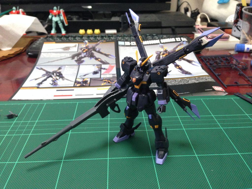 HGUC 1/144 XM-X2ex クロスボーン・ガンダムX2改 正面