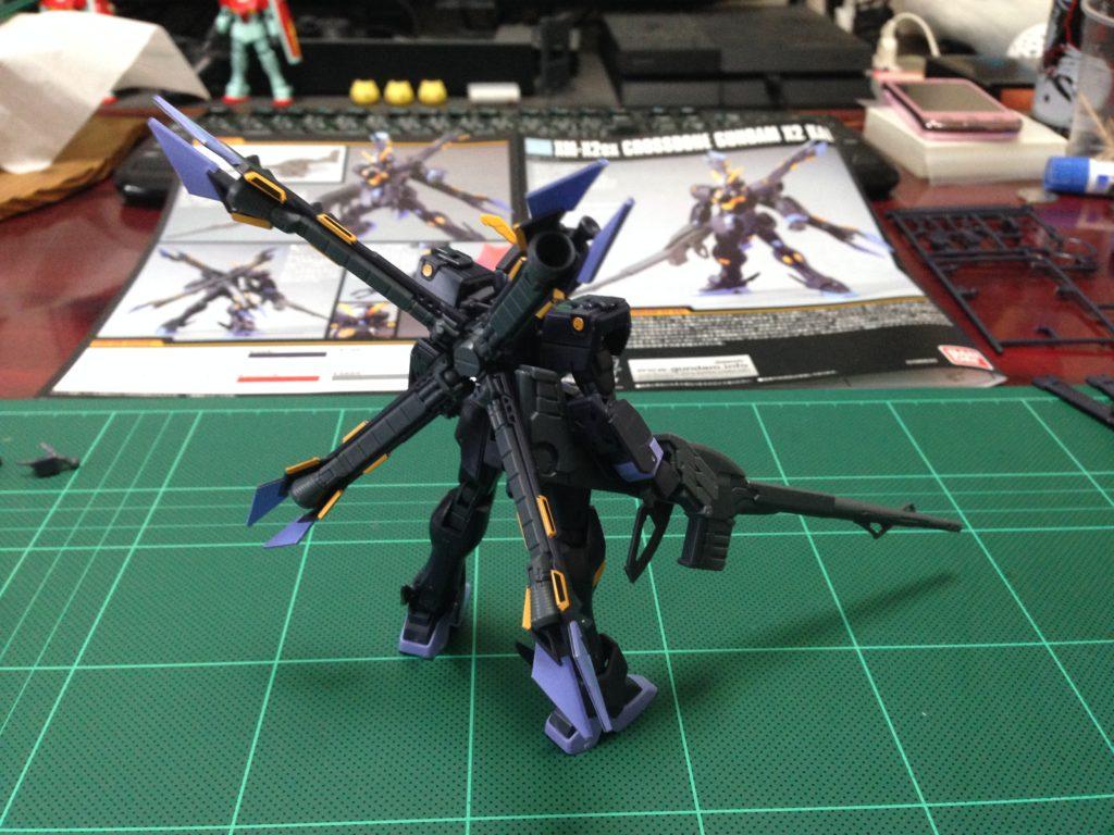 HGUC 1/144 XM-X2ex クロスボーン・ガンダムX2改 背面