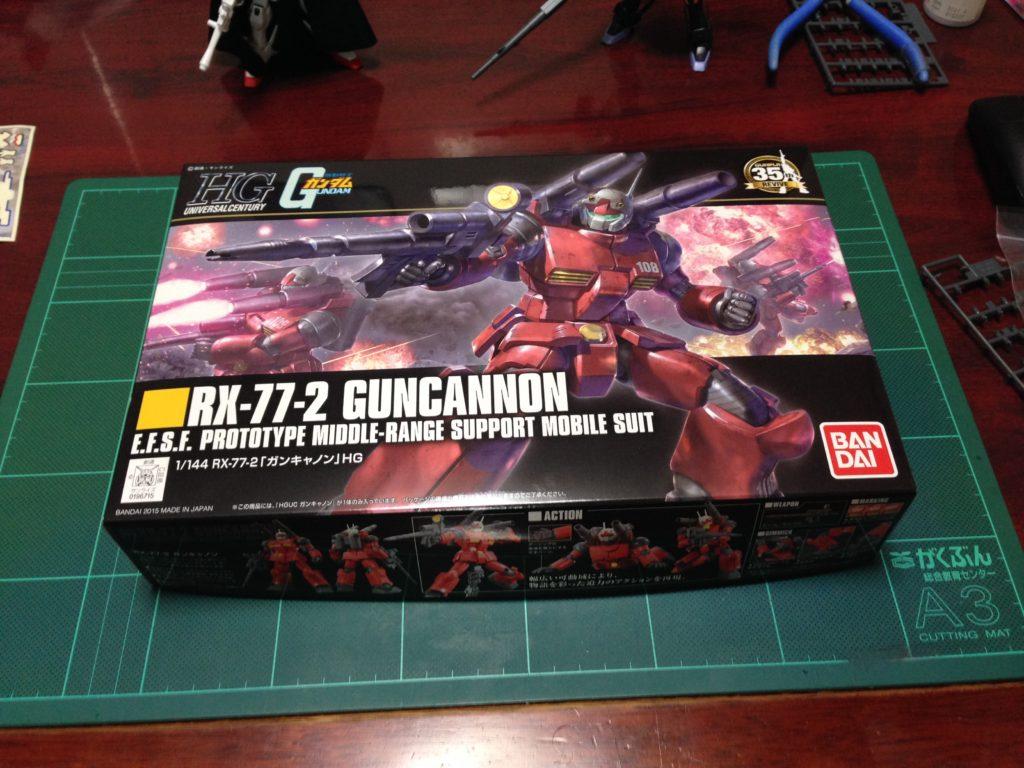 HGUC 190 1/144 REVIVE RX-77-2 ガンキャノン [Guncannon] パッケージ