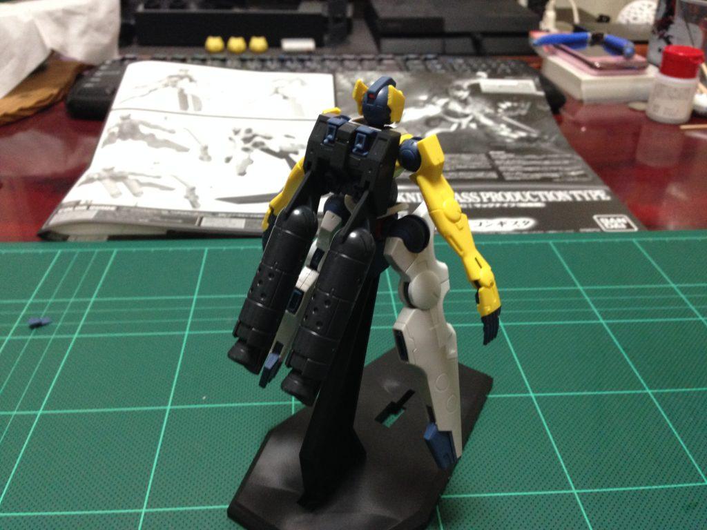 HG 1/144 CAMS-05P マックナイフ(量産機) 背面